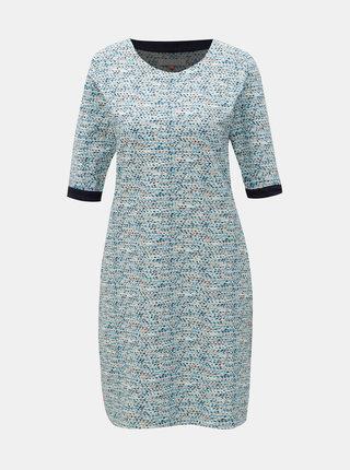 Modré vzorované šaty Brakeburn Spots