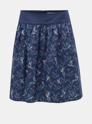 Modrá vzorovaná sukňa Brakeburn Hummingbird