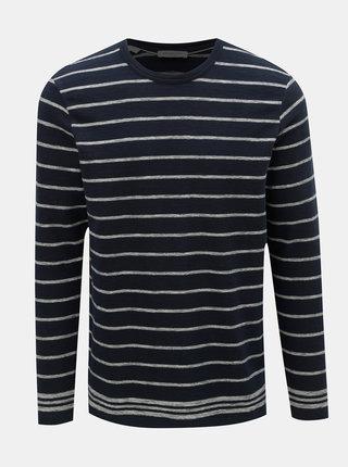 Tmavě modrý pruhovaný svetr Selected Homme Jack