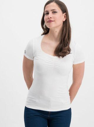 Biele tričko Blutsgeschwister Logo