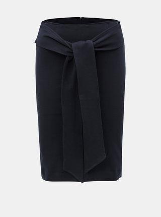 Tmavě modrá pouzdrová sukně Selected Femme Fergi