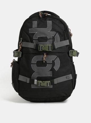 Černý batoh s odnímatelným bederním popruhem NUGGET Arbiter