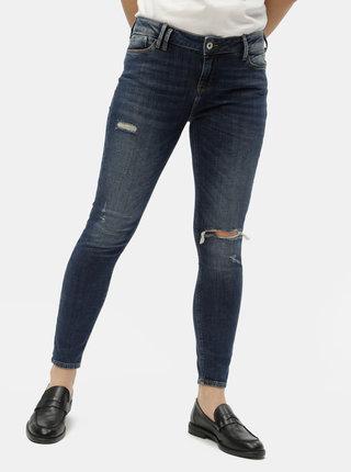 Tmavomodré dámske skinny fit rifle Cross Jeans Giselle