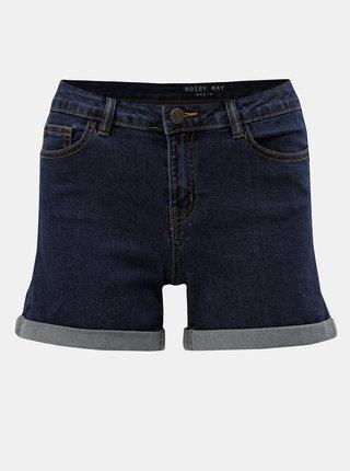 Tmavě modré džínové kraťasy Noisy May Lucy
