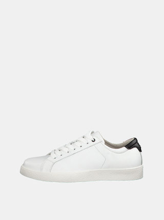 Pantofi sport albi din piele Tamaris Rombo