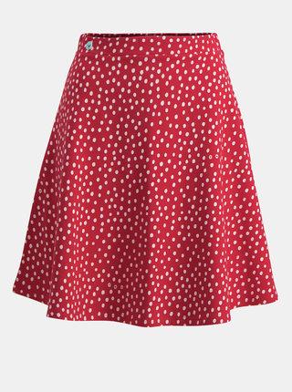 Červená puntíkovaná sukně Blutsgeschwister Sommer Braut