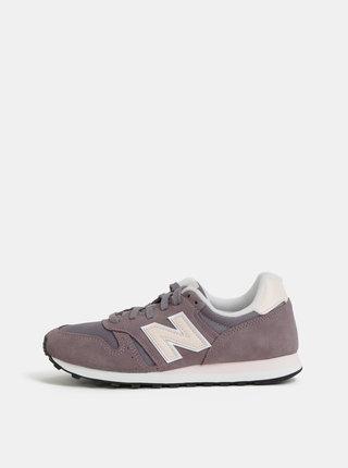 Pantofi sport mov de dama din piele intoarsa New Balance 373