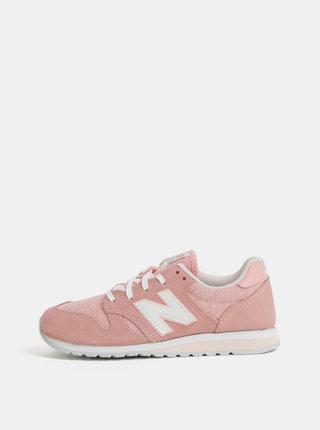 Pantofi sport roz de dama din piele intoarsa New Balance 520