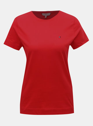 Červené dámske tričko Tommy Hilfiger Tessa