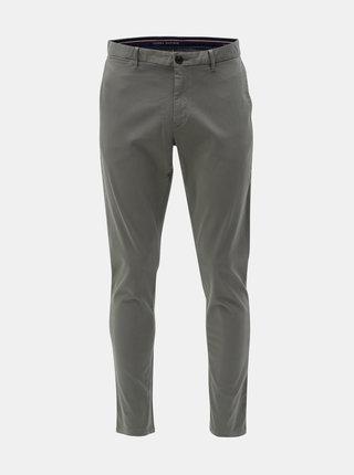 Šedé pánské chino kalhoty Tommy Hilfiger