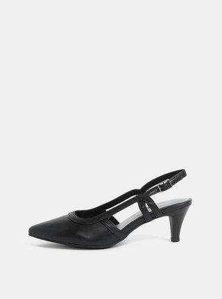 Pantofi negri Tamaris