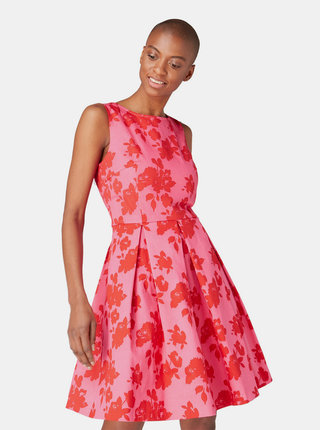 Rochie roz florala Tom Tailor