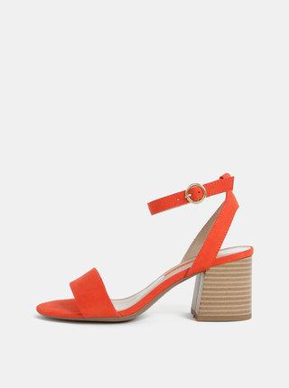 Sandale rosii Dorothy Perkins