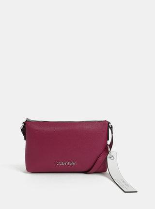 Tmavě růžová crossbody kabelka Calvin Klein Jeans