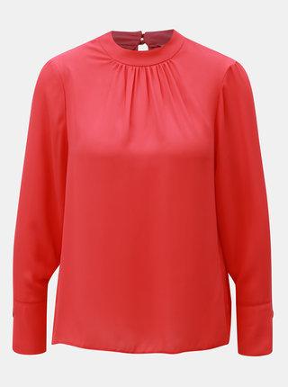 Bluza roz inchis lejera cu decupaj Dorothy Perkins Petite