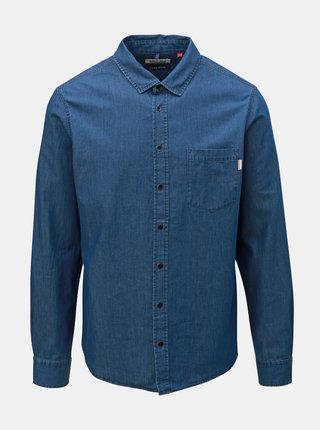 Modrá džínová košile s kapsou Blend