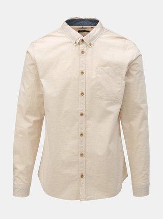 Béžová košile s kapsou Blend
