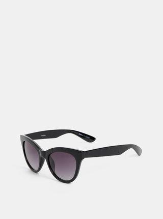Černé sluneční brýle Pieces Sonja