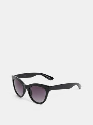Černé sluneční brýle Pieces Stella