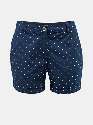 Pantaloni scurti albastru inchis cu buline Dorothy Perkins
