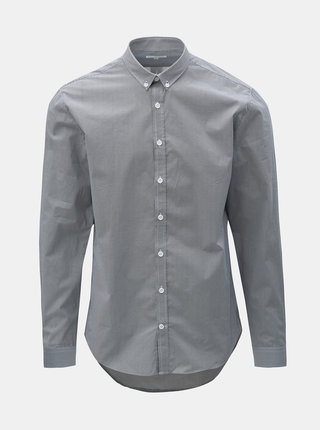 Modrá vzorovaná košeľa Lindbergh