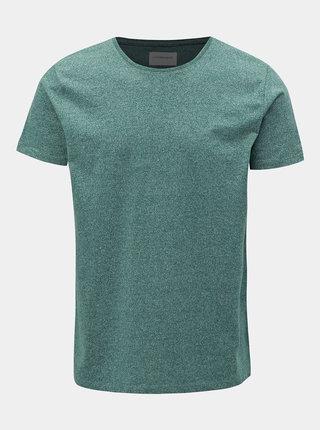 Zelené melírované tričko Lindbergh