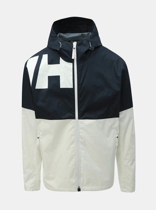 Jacheta barbateasca albastru-alb lejera impermeabila HELLY HANSEN