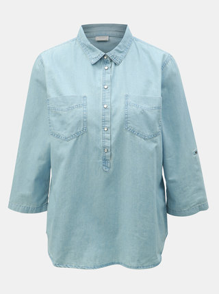 Modrá rifľová košeľa Jacqueline de Yong Shinest