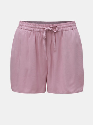 Pantaloni scurti roz prafuit VERO MODA Love