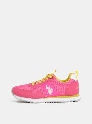 Pantofi sport roz de dama U.S. Polo Assn.