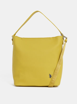 Žlutá kabelka U.S. Polo Assn.