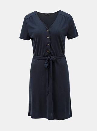 Tmavomodré šaty VERO MODA Jess