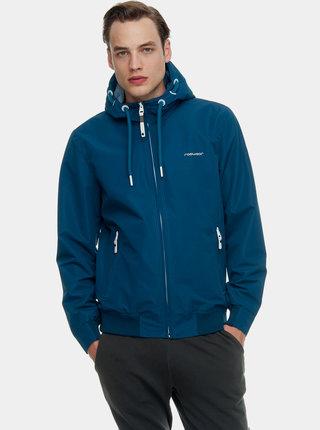 Modrá pánska nepremokavá bunda Ragwear Percy