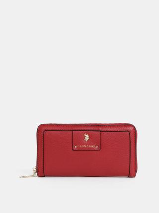 Červená dámska peňaženka U.S. Polo Assn.