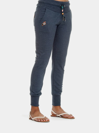 Pantaloni sport albastru inchis de dama Ragwear Chester