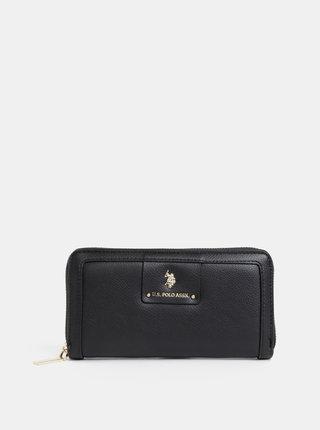 Čierna dámska peňaženka U.S. Polo Assn.