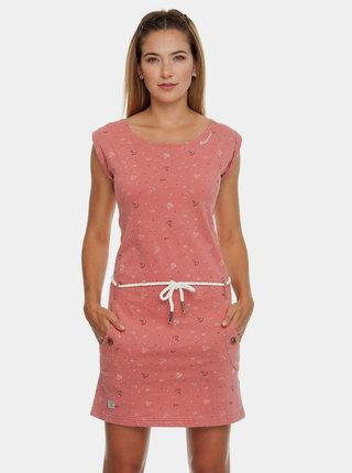 Rochie roz cu model si cordon Ragwear Tag