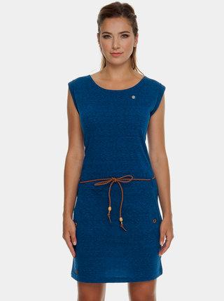 Modré melírované šaty Ragwear Tag