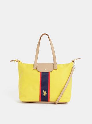 Žltá kabelka U.S. Polo Assn.