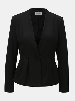 Černé kostýmové sako AWARE by VERO MODA Gemma