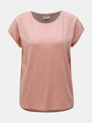 Tricou basic roz prafuit AWARE by VERO MODA Ava