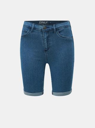Pantaloni scurti albastri din denim ONLY Rain
