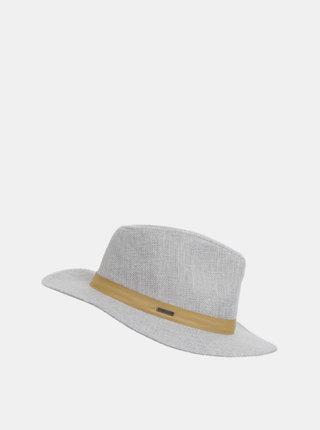 Svetlosivý klobúk s prímesou ľanu Roxy Spring