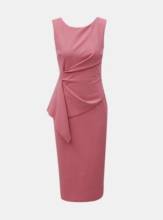 Starorůžové pouzdrové šaty Dorothy Perkins