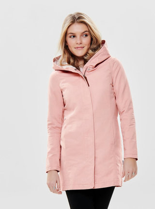 Jacheta roz lejera cu gluga ONLY Mandy Sedona