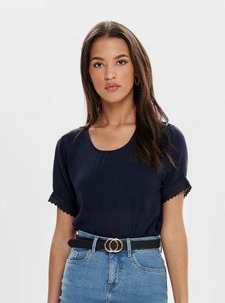 Bluza albastru inchis Jacqueline de Yong June