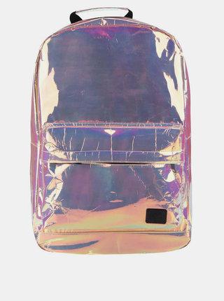 Růžový dámský holografický batoh Spiral Holographic 18 l