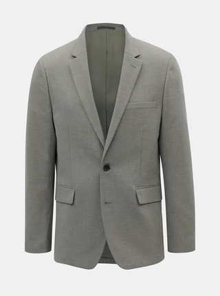 Sacou formal gri tailored fit Burton Menswear London