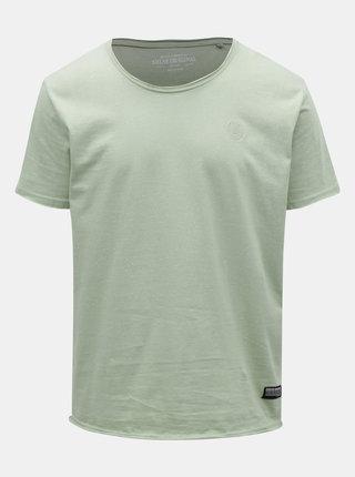 Tricou verde deschis melanj Shine Original