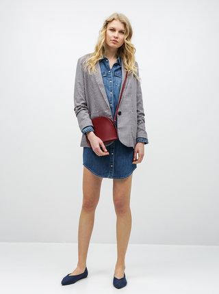 Modré džínové košilové šaty ONLY Wendy